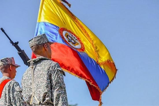1.800 Jóvenes protegerán el azul de la bandera de su patria colombiana
