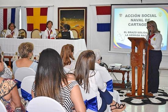 Acción Social Naval de Cartagena realiza su asamblea general