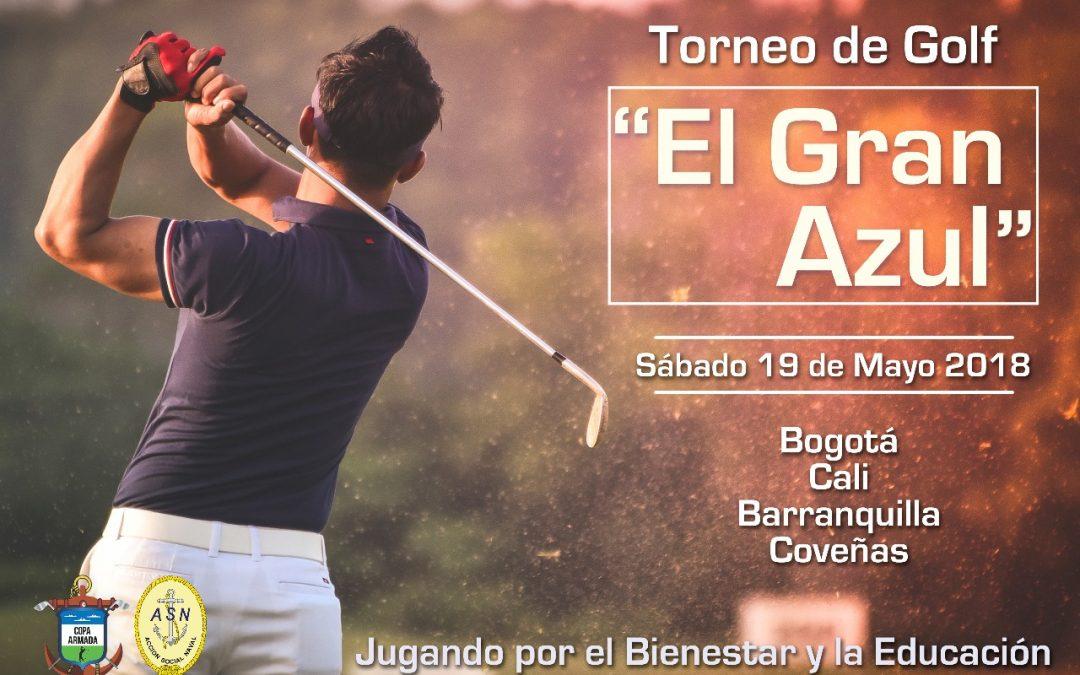 Vuelve el Torneo de Golf «El Gran Azul» en 2018