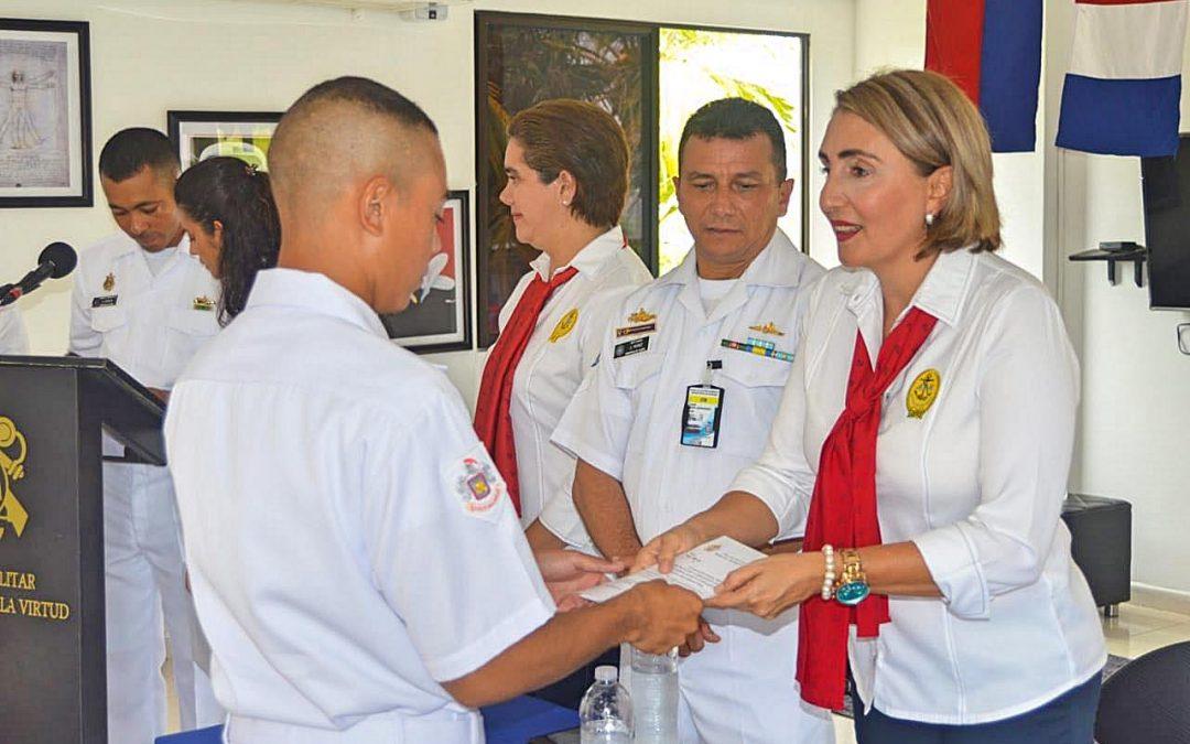 Acción Social Naval de Coveñas otorga 20 becas para reservistas