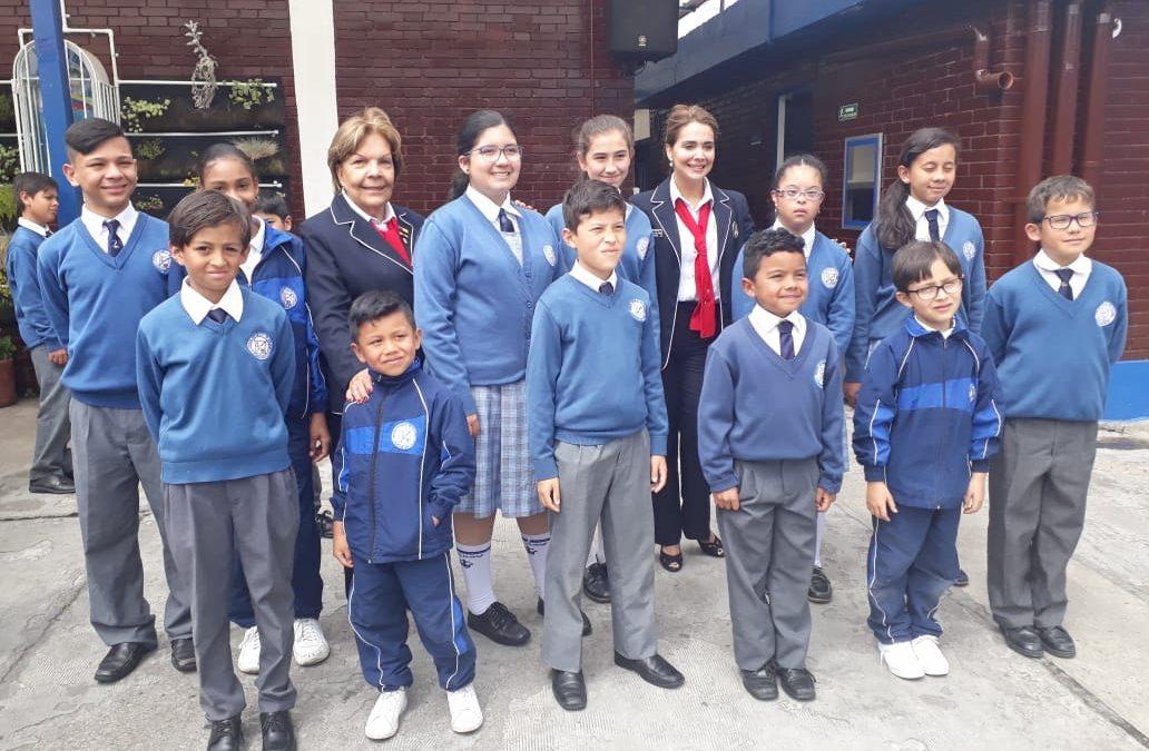 Continúa apoyo a Infantes de Marina en Bahía Málaga y a niños becados en Bogotá