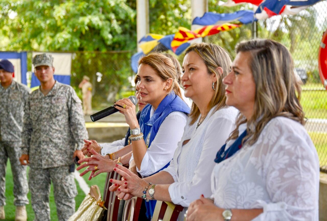 María José Cure Presidenta de la Acción Social Naval