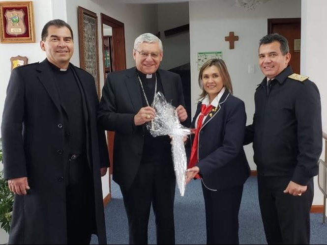 El Obispado castrense trabaja con la Acción Social Naval