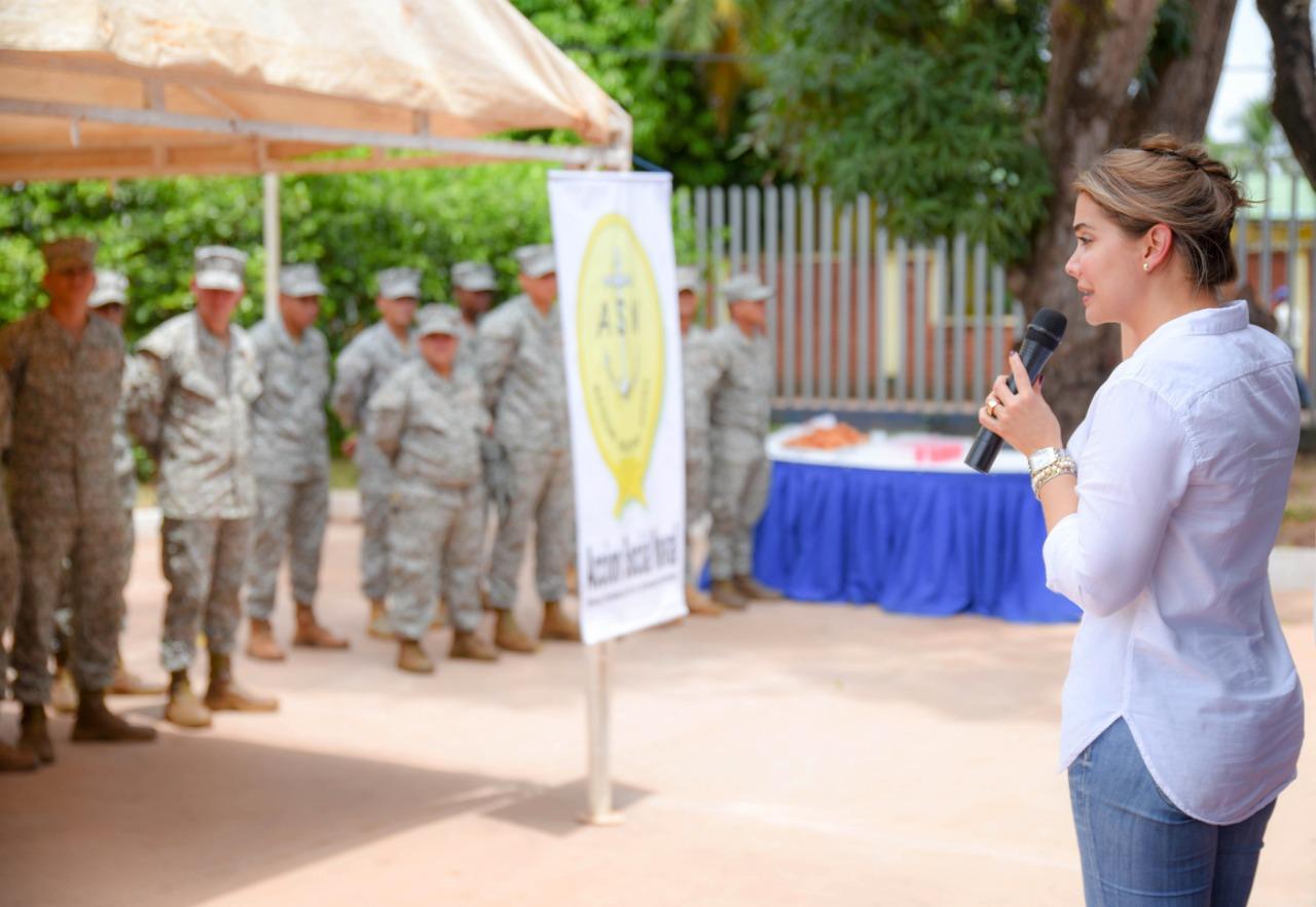 Acción social Naval visita Puerto Carreño