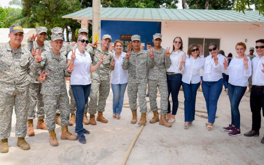 Acción Social Naval visita Puerto Carreño, Vichada