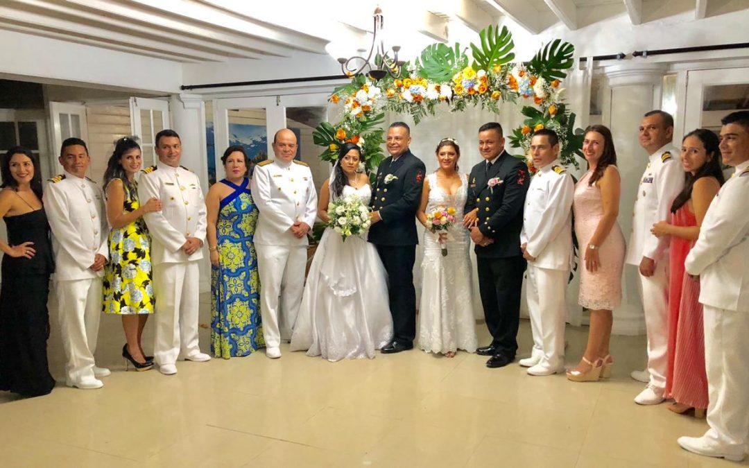 Acción Social Naval de San Andrés apoya con matrimonios