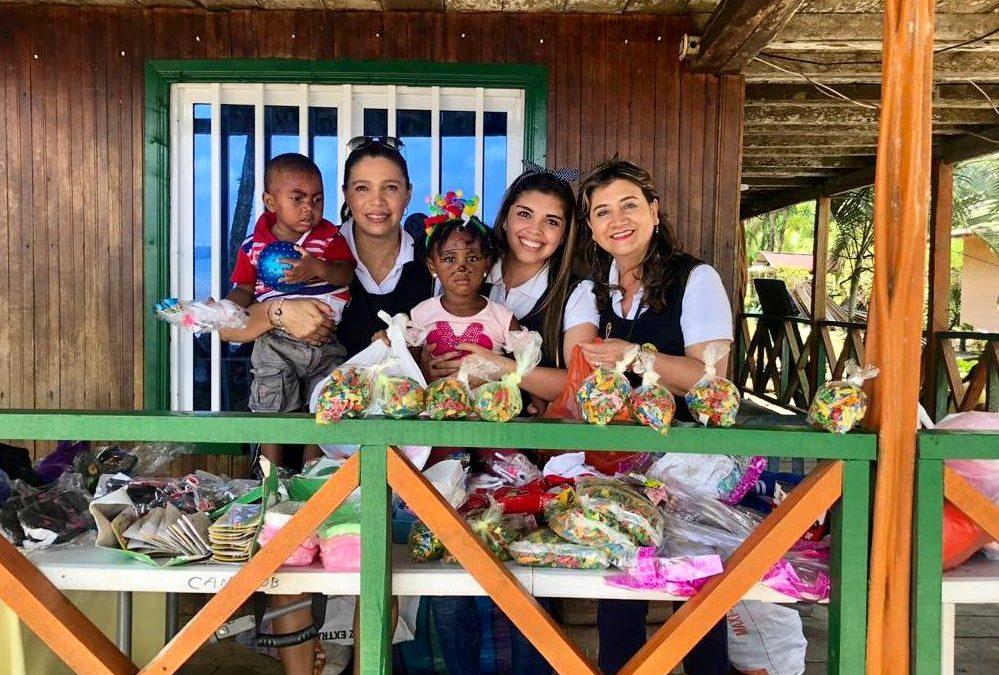Acción Social Naval entrega donaciones en Chucheros