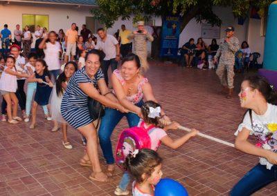 Celebración del Día de los Niños en el Oriente colombiano
