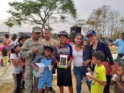 Semana Deportiva Infantil en Coveñas