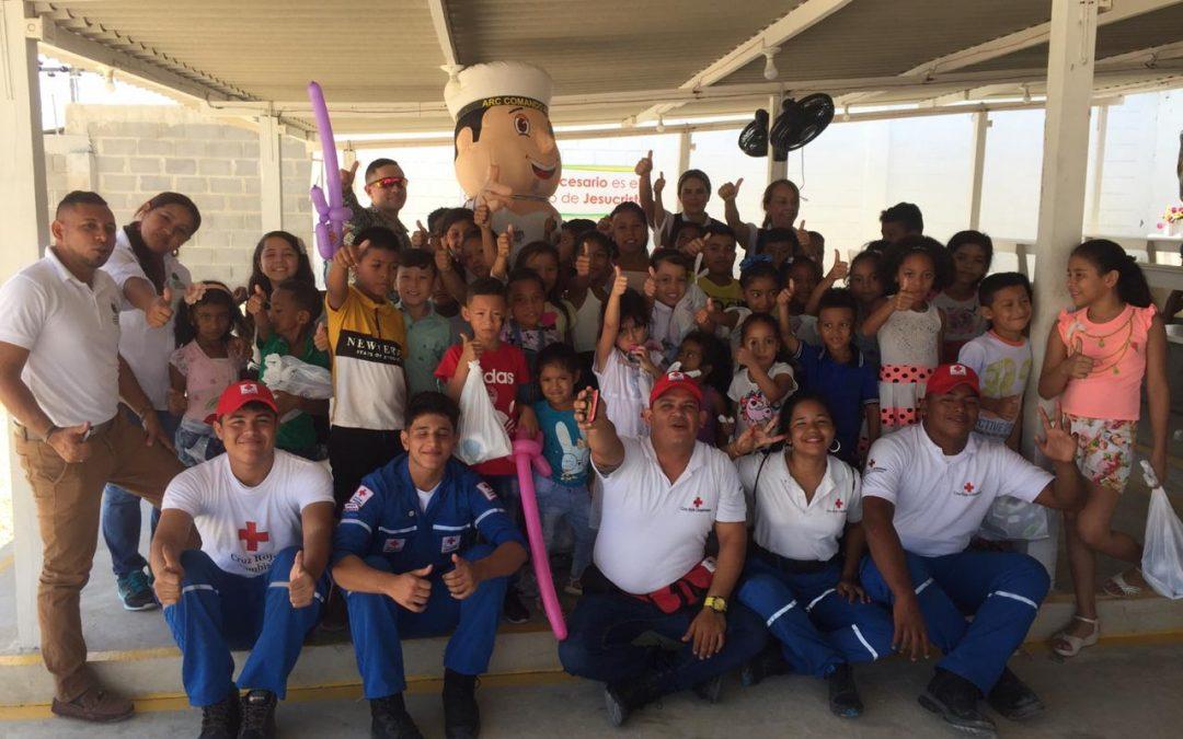 Acción Social Naval de Barranquilla entrega ayuda humanitaria