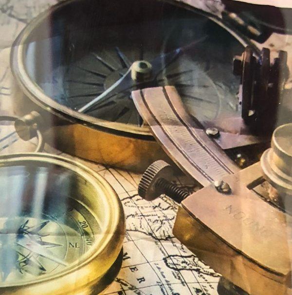 Brújula y sextante