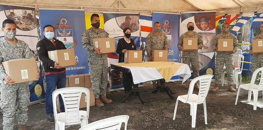 Donaciones para el personal de apoyo en Bogotá