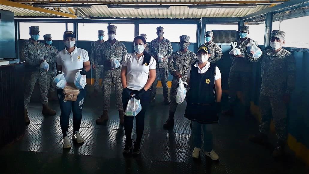 Prevención contra el Covid19 en Puerto Carreño