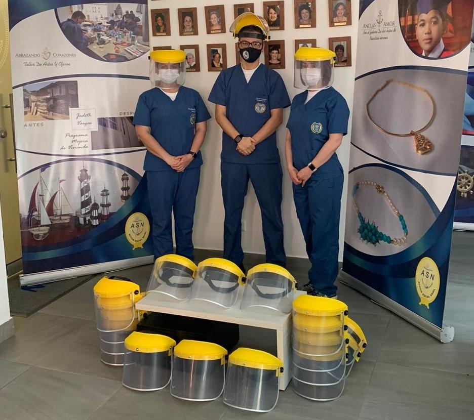 Acción Social Naval apoya la Sanidad Naval durante la pandemia 1