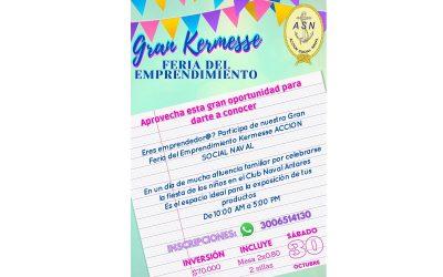 Feria de emprendimiento en el Club Naval Antares